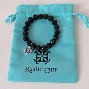 Rustic Cuff Emerson Bracelet in Black